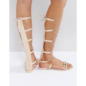 ASOS jelly gladiator sandals